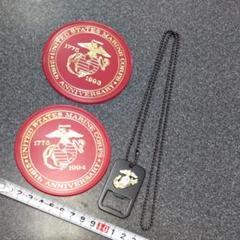 "Thumbnail of ""アメリカ海兵隊USMC.U.S.NAVYネックレス 栓抜き コースター"""