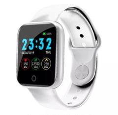 i5 ホワイト スマートウォッチ Bluetooth