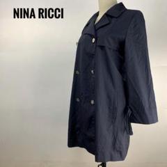 "Thumbnail of ""Z251 NINA RICCI アウター コート ピーコート Pコート ネイビー"""
