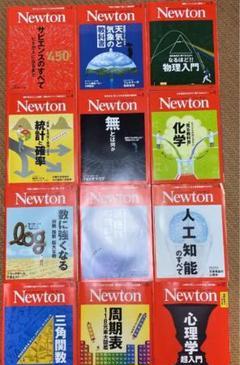 "Thumbnail of ""雑誌 Newton ほぼ未使用 1年分 12冊 2019年1月号〜12月"""
