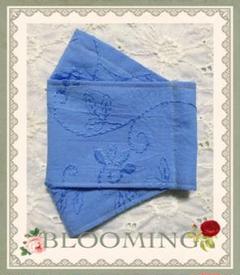 "Thumbnail of ""マチ深め✧︎*。コットン刺繍/クールマックス(涼感素材)BOX型インナーマスク"""