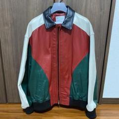 """Thumbnail of """"Supreme Studded Arc Logo Leather Jacket"""""""