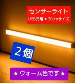 "Thumbnail of ""最新♪LEDライト2個センサーライトLED 人感 USB充電 モーションセンサー"""