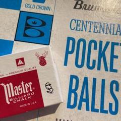 "Thumbnail of ""Brunswick POCKET BALLS & Master CHALKセット"""