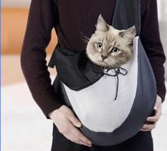 """Thumbnail of """"ペット ショルダーバッグ 小型犬用 猫用 スリング 抱っこ紐"""""""