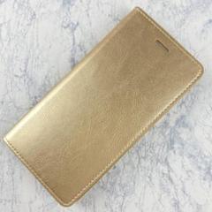 "Thumbnail of ""新品iPhone 7plus 、8plus 本革スタンド機能 ケースゴールド"""