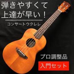 "Thumbnail of ""【誰でも楽々ウクレレ入門セット】Pudding ukulele【コンサート】"""