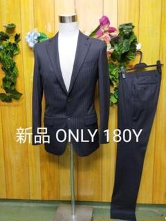 """Thumbnail of """"新品 オンリー スーツ 180Y 濃紺 ストライプ 細身"""""""
