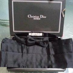 "Thumbnail of ""【美品Christian Dior】蝶ネクタイ&  サッシュベルト"""