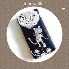 """Thumbnail of """"50*草花クロッチくん✿長財布 ラウンドファスナー✿PJC ✿ミナペルホネン"""""""
