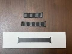 """Thumbnail of """"【純正】Apple Watch 44mmレザーリンクS/Mブラック"""""""