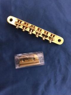 "Thumbnail of ""値下げESP Tune Matic Bridge Gold ギターブリッジ"""