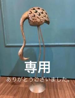 "Thumbnail of ""フラミンゴ アンティーク風 キャンドルホルダー インテリア"""