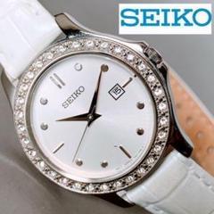 """Thumbnail of """"【美品】★SEIKO スワロフスキーダイヤ32石★セイコー 腕時計 レディース"""""""