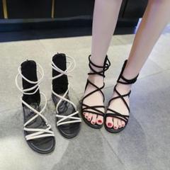 "Thumbnail of ""サンダル女子夏ファッション学生靴3"""
