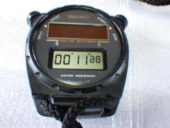 "Thumbnail of ""未使用 セイコー ストップウォッチ 太陽電池 STBZ018 S025-6000"""