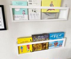"Thumbnail of ""壁掛けマガジンラック ウォールラック 本 ブックインテリア"""