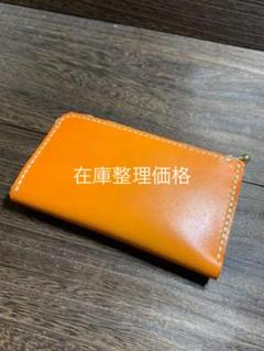"""Thumbnail of """"ハンドメイドレザー L型カード入れ 小銭入れ"""""""