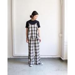 """Thumbnail of """"PHEENY  フィーニー Rayon ombre check camisole"""""""