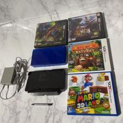 """Thumbnail of """"任天堂3DS本体、付属品、ソフト4本セット"""""""