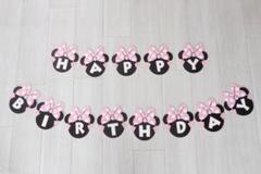 "Thumbnail of ""◆ミニーマウス HAPPY BIRTHDAY ガーランド◆"""