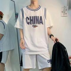 "Thumbnail of ""ボーイズスポーツウェア韓国語バージョンのトレンド夏カジュアルな服2ピ61"""