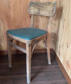 "Thumbnail of ""秋田木工 70年代ヴィンテージチェア椅子 2脚セット  天童木工無印北欧風好きへ"""