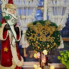 """Thumbnail of """"クリスマス花輪 クリスマスリース 玄関リース ドア 窓 オーナメント"""""""