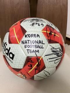 """Thumbnail of """"韓国代表サイン入り サッカーボール"""""""