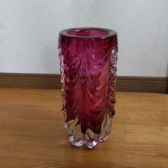 "Thumbnail of ""ガラスの花瓶    紫色    アンティーク"""
