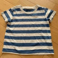 "Thumbnail of ""無印良品 ボーダー Tシャツ 100"""