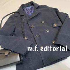 "Thumbnail of ""B1551【美品】m.f.editorial 黒色ピーコート"""