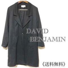 "Thumbnail of ""古着》DAVID BENJAMIN ステンカラーコート/チェスターフィールド M"""
