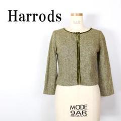 "Thumbnail of ""LA991 Harrods ハロッズ ウールシルクジャケット 2"""