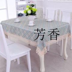 """Thumbnail of """"新しい刺繍食品デスクトップのシンプルな春のレースのテーブルクロス60*60cC"""""""