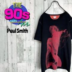 "Thumbnail of ""Paul Smith ポールスミス 日本製 アート柄 ステッチTシャツ 激レア"""