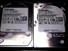 "Thumbnail of ""東芝 2.5インチ HDD 注意4台 500GB"""