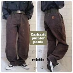 """Thumbnail of """"【大人気】Carhartt 革ロゴ ストレート ダブルニーダックペインターパンツ"""""""