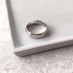"Thumbnail of ""6mm simple mat ring【シルバー】"""