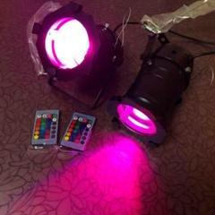 "Thumbnail of ""舞台照明 ステージライト RGBW4in1 LEDパーライト 無線操作 リモコン"""