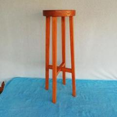 "Thumbnail of ""飾り台丸椅子 スツール 木製飾り台丸椅子"""