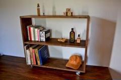 "Thumbnail of ""Antique Book open Shelf Caster"""