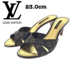 """Thumbnail of """"極美品★Louis Vuitton ミュール モノグラム キャンバス 23cm"""""""