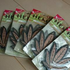 "Thumbnail of ""HEMP 芳香剤 エアーフレッシュナー 3枚×5袋(15枚) COCONUT"""