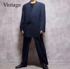 "Thumbnail of ""vintage ネイビー ウール ダブルジャケット セットアップ"""