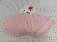 """Thumbnail of """"Hello Kitty ハローキティ キッズ 刺繍入り もこもこ ポンチョ"""""""