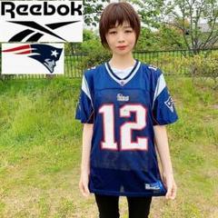 """Thumbnail of """"【NFL】Reebok ペイトリオッツ 紺 ゲームシャツ BRADY 12"""""""
