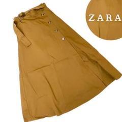 "Thumbnail of ""ZARA ザラ ZARATRF  ロングスカート 巻きスカート アースカラー"""