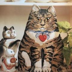 """Thumbnail of """"可愛い猫やテディベアの図案入り 洋書のクロスステッチ図案集 DMC糸指定有 gl"""""""