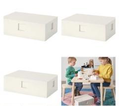 "Thumbnail of ""レゴ  収納ボックス 大ボックス 35cm 26cm 12cm ×3の3箱セット"""